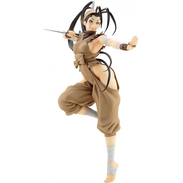 Street Fighter III Bishoujo 1/7 Scale Pre-Painted PVC Figure: Ibuki