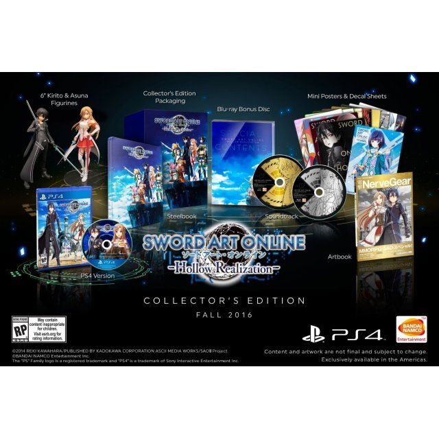 Sword Art Online: Hollow Realization [Collector's Edition] (English Subs)