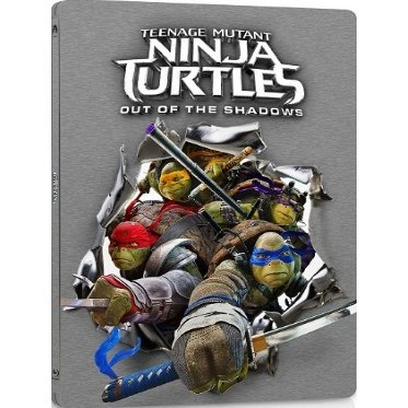 Teenage Mutant Ninja Turtles: Out of the Shadows [3D+2D] (Steelbook Edition)