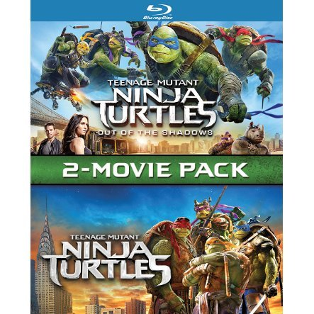 Teenage Mutant Ninja Turtles: Out of the Shadows + Teenage Mutant Ninja Turtles 2-Movie Pack