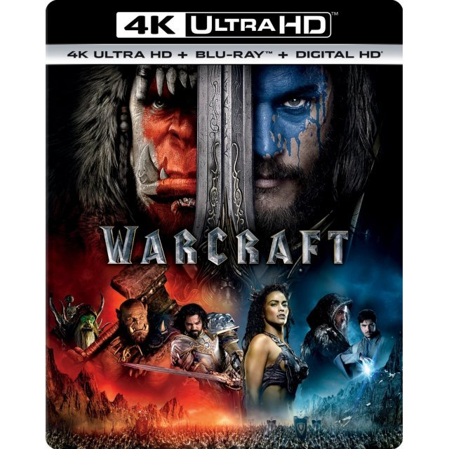 warcraft 4k uhd blu ray. Black Bedroom Furniture Sets. Home Design Ideas