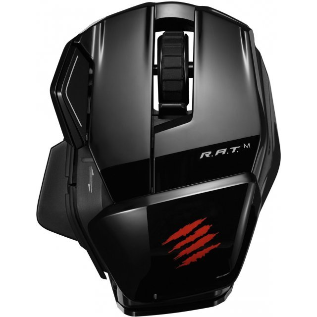 Mad Catz Office R.A.T.M Wireless Mobile Mouse (Gloss Black)