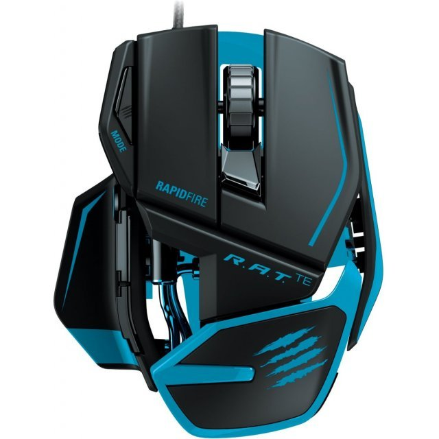 Mad Catz R.A.T.TE Gaming Mouse (Matte Black)