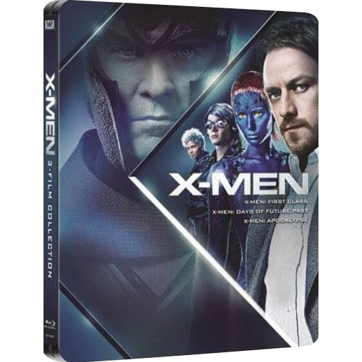 X-Men Beginnings Trilogy (Steelbook)