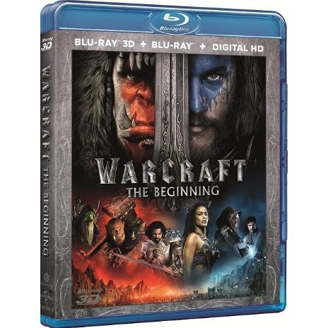 Warcraft: The Beginning [2-disc 2D+3D]