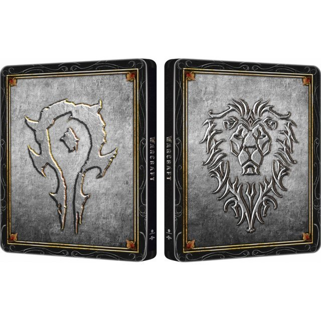 Warcraft: The Beginning [3D + 2D] [Icons Steelbook Edition]