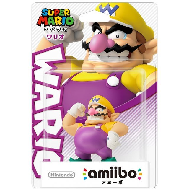 amiibo Super Mario Series Figure (Wario)