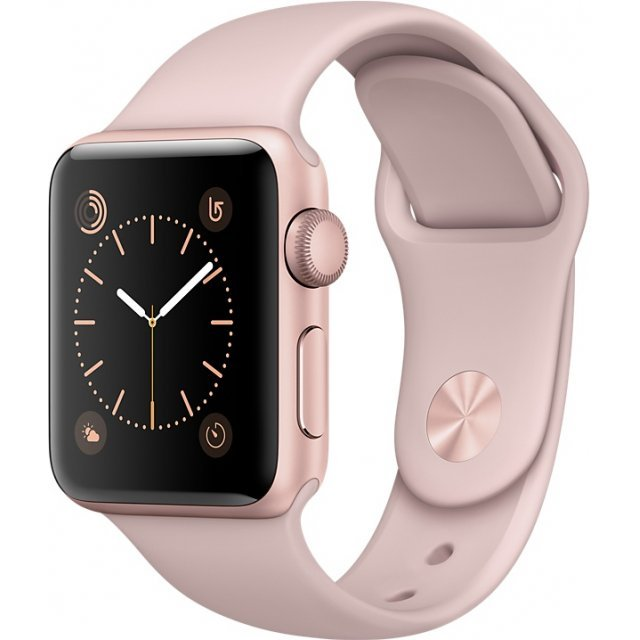 Apple Watch Series 2 38mm with Pink Sand Sport Band (Rose Gold)