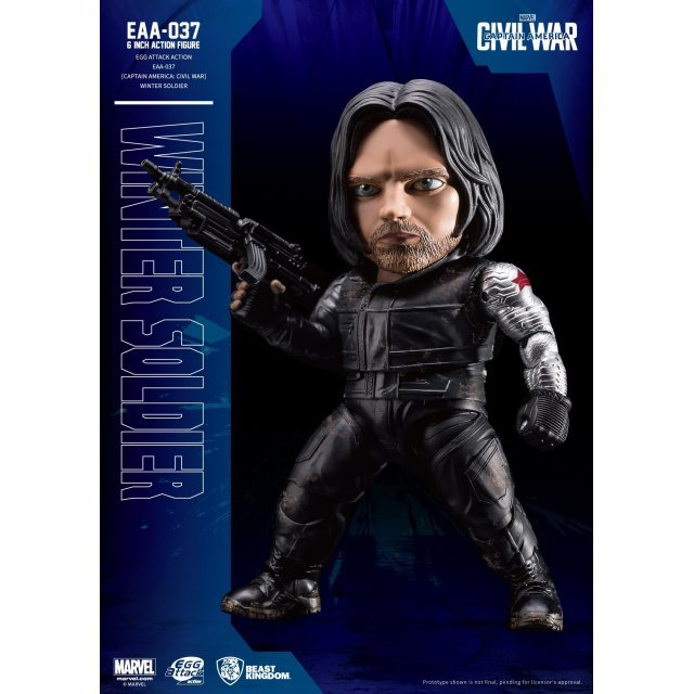 Egg Attack Captain America Civil War: Winter Soldier