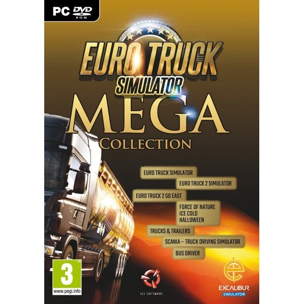 Euro Truck Simulator Mega Collection (DVD-ROM)