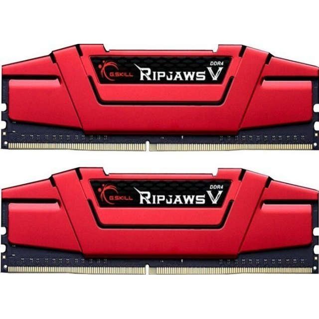 G.Skill RipJaws V DIMM Kit 32GB, DDR4-2400, CL15-15-15-35