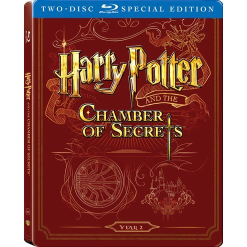 Harry Potter and the Chamber of Secrets (2-Disc)(Steelbook)