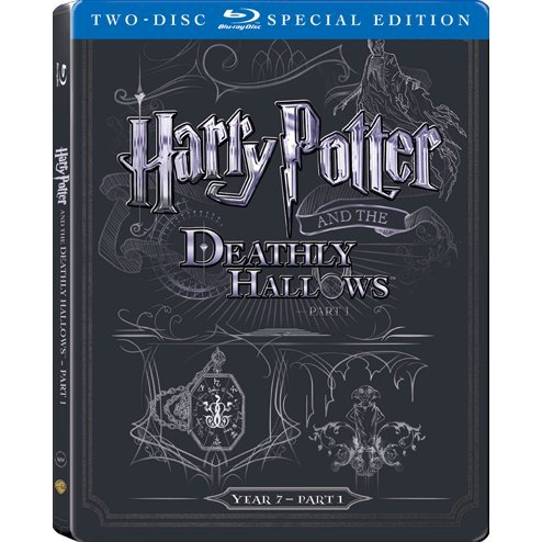 Harry Potter and the Deathly Hallows: Part 1 (2-Disc)(Steelbook)