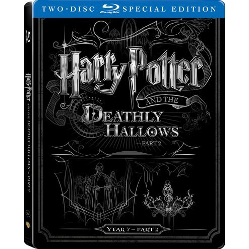 Harry Potter and the Deathly Hallows: Part 2 (2-Disc)(Steelbook)