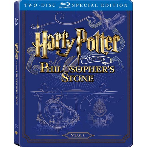 Harry Potter and the Sorcerer's Stone (2-Disc)(Steelbook)