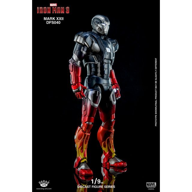 King Arts Iron Man 3 1/9 Diecast Figure Series: Iron Man Mark 22