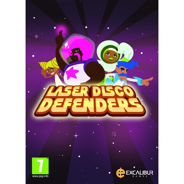 Laser Disco Defenders (DVD-ROM)
