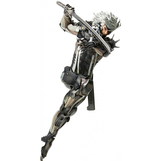mensHdge technical statue No. 33 Metal Gear Solid Rising Revengeance: Raiden