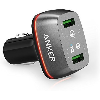 Anker PowerDrive+ Car Charger 2 with Quick Charge 3.0