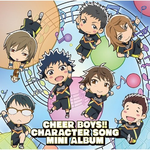 Cheer Boys Character Song Mini-Album