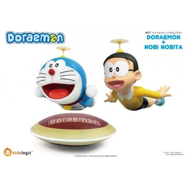 Doraemon: Doraemon & Nobi Nobita ML-07 Magnetic Levitating Ver. Base Set