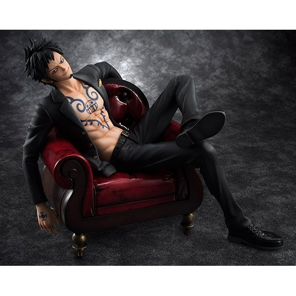 One Piece Excellent Model Portrait of Pirates SOC 1/8 Scale Pre-Painted Figure: Trafalgar Law