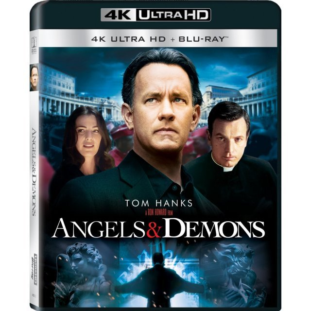 Angels And Demons [4K Ultra HD Blu-ray]