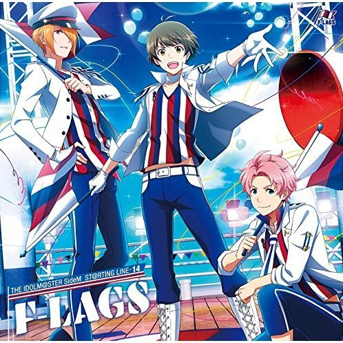 Idolm@ster SideM St@rting Line-14 F-Lags