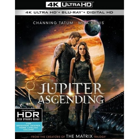 Jupiter Ascending [4K Ultra HD Blu-ray]