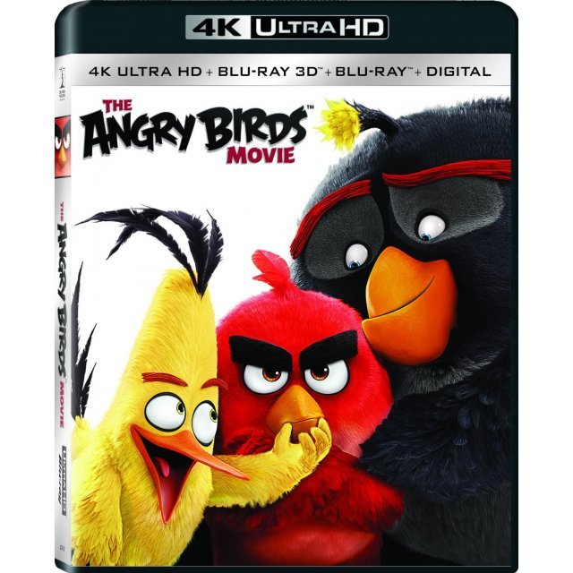 The Angry Birds Movie [4K Ultra HD Blu-ray]