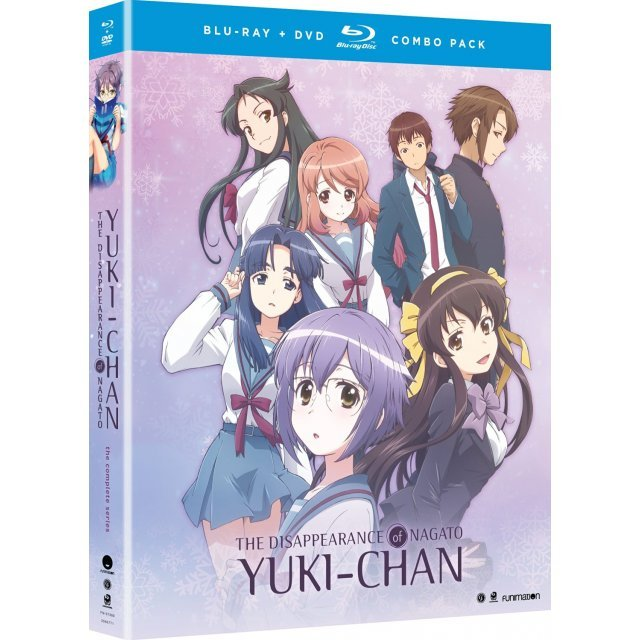 The Disappearance Of Nagato Yuki-Chan: The Complete Series Season One