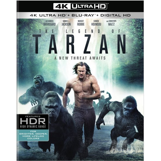 The Legend Of Tarzan [4K Ultra HD Blu-ray]
