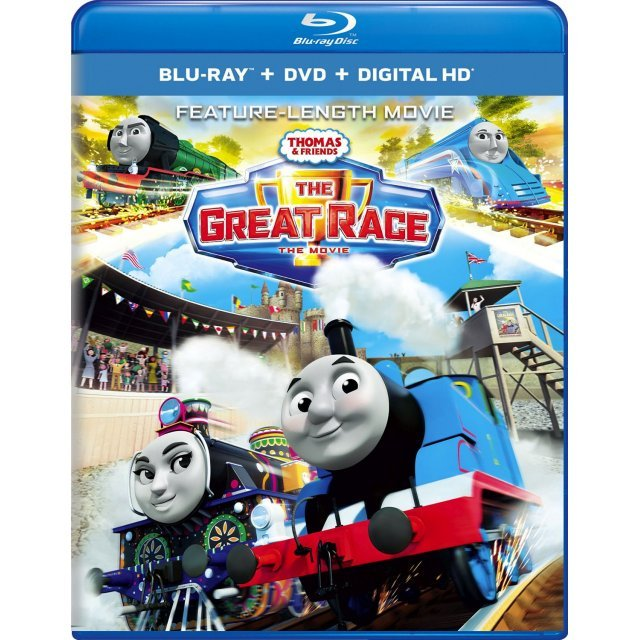 Thomas And Friends: The Great Race [Blu-ray+DVD+Digital HD]