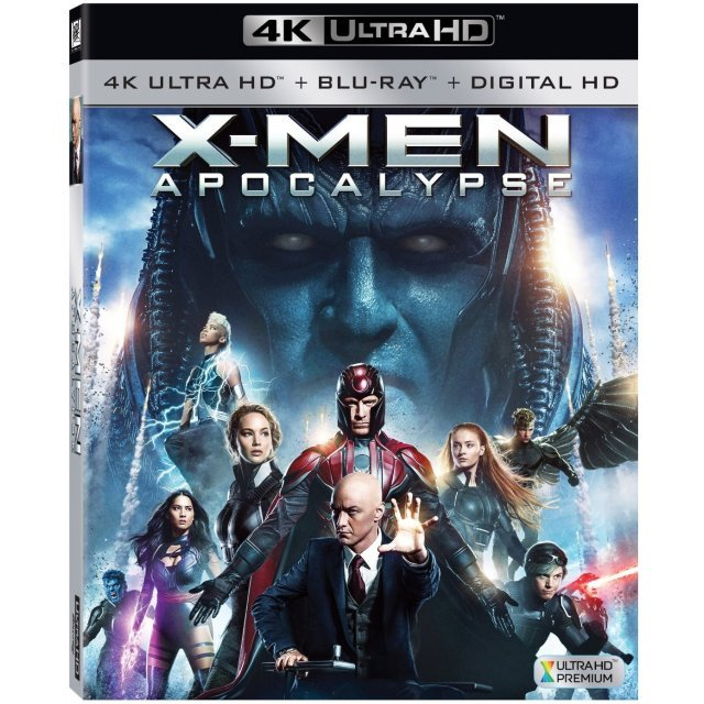 X-men: Apocalypse [4K Ultra HD Blu-ray]