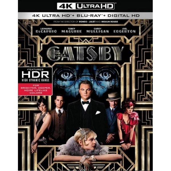 The Great Gatsby [4K Ultra HD Blu-ray]