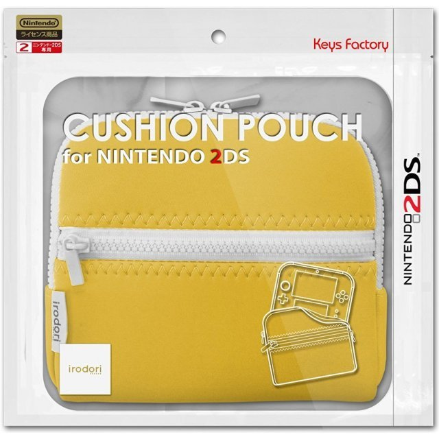 Cushion Pouch for 2DS (Yellow)