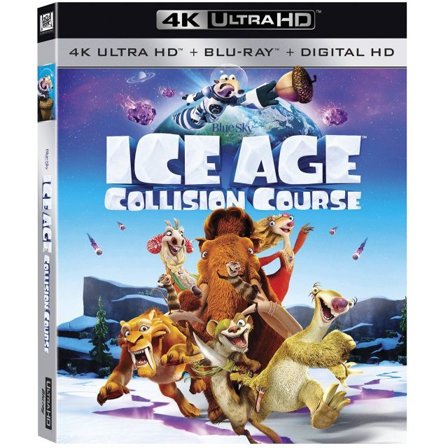 Ice Age: Collision Course [4K Ultra HD Blu-ray]