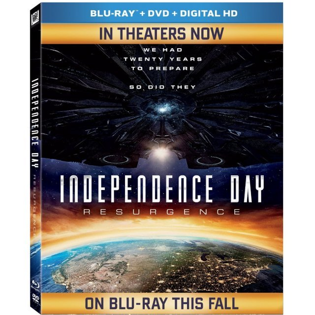 Independence Day: Resurgence [Blu-ray+DVD+Digital HD]