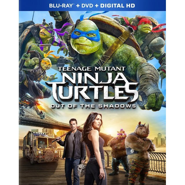 Teenage Mutant Ninja Turtles: Out Of The Shadows [Blu-ray+DVD+Digital HD]