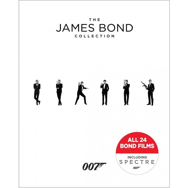 The James Bond Collection (24-Disc Boxset)