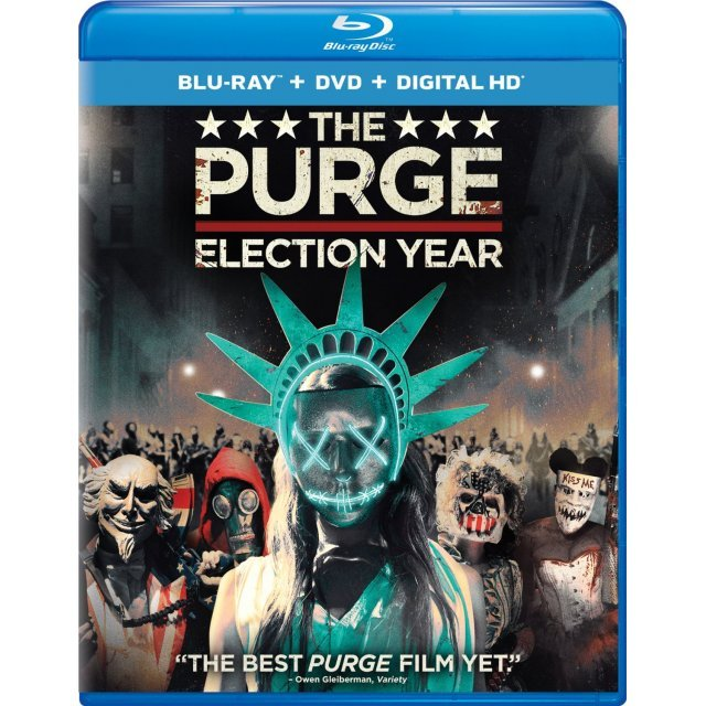 The Purge: Election Year [Blu-ray+DVD+Digital HD]