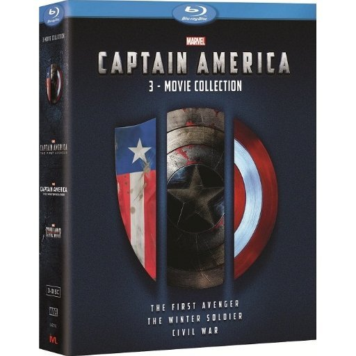 Captain America 3-Movie Collection