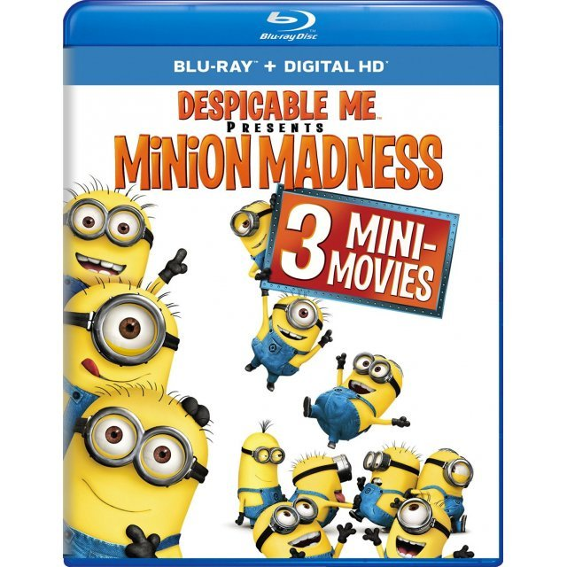 Despicable Me Presents: Minion Madness [Blu-ray+Digital HD]