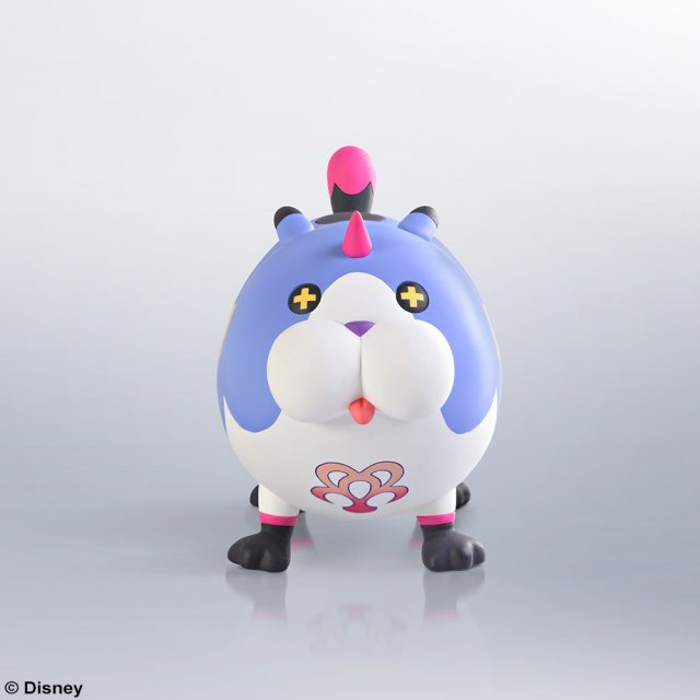 Kingdom Hearts 3D Dream Drop Distance Static Arts Mini Figure: Wonder Meow