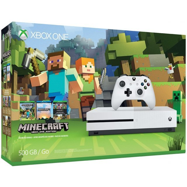 Xbox One S Minecraft Favorites Bundle (500GB Console)
