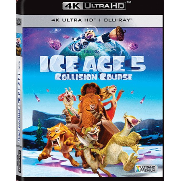 Ice Age: Collision Course [4K UHD+BD]