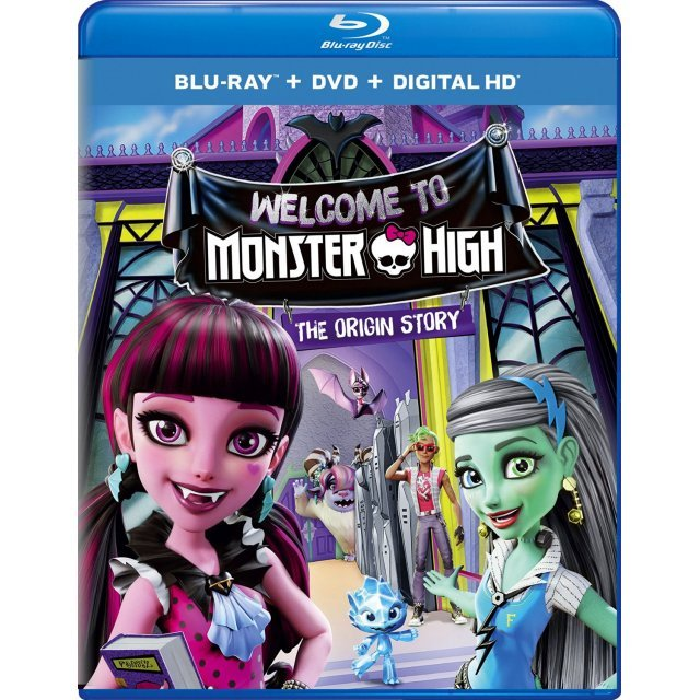 Monster High: Welcome to Monster High [Blu-ray+DVD+Digital HD]