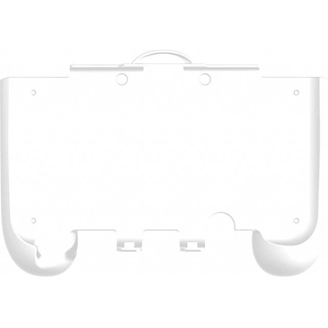 Rubber Coat Grip Slim for New 3DS LL Compact Type (White)