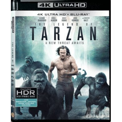 The Legend of Tarzan (4K UHD+BD) (2-DISC)