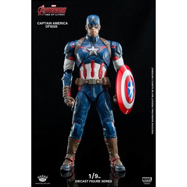 King Arts Avengers Age of Ultron 1/9 Diecast Figure Series: Captain America